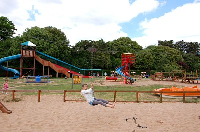 Playpark close to Exeview